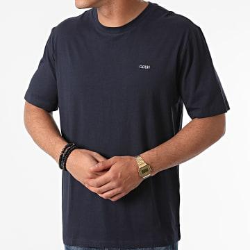 HUGO - Tee Shirt Dero 212 50450482 Bleu Marine
