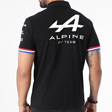 Le Coq Sportif - Polo Manches Courtes Alpine 2110842 Noir