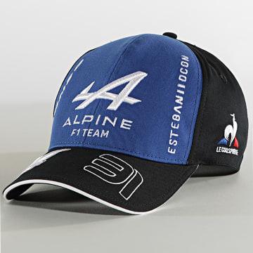 Le Coq Sportif - Casquette Alpine F1 Team Bleu Roi