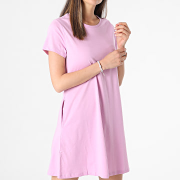 Only - Robe Tee Shirt Femme May Life Rose