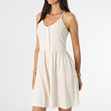 Vero Moda - Robe Femme Adarebecca Beige