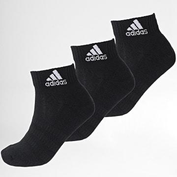 Adidas Performance - Lot De 3 Paires De Chaussettes Cush Ankle DZ9379 Noir