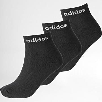 Adidas Performance - Lot De 3 Paires De Chaussettes GE6128 Noir