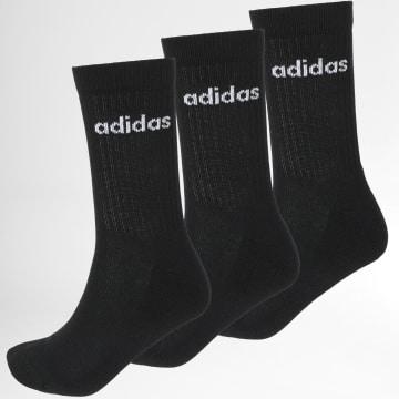 Adidas Performance - Lot De 3 Chaussettes Crew 3PP GE6171 Noir