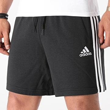 Adidas Performance - Short Jogging A Bandes 3 Stripes GK9597 Noir