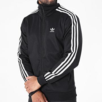 Adidas Originals - Veste Zippée A Bandes Beckenbauer H09112 Noir