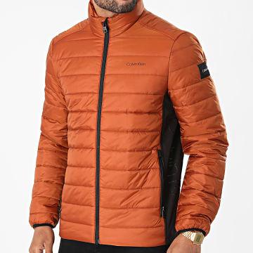 Calvin Klein - Doudoune Essential Side Logo 7335 Marron