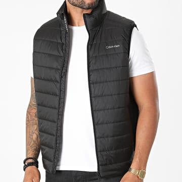 Calvin Klein - Doudoune Sans Manches Essential Side Logo 7337 Noir