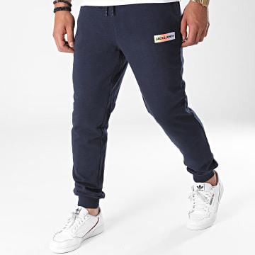 Jack And Jones - Pantalon Jogging Brad Bleu Marine