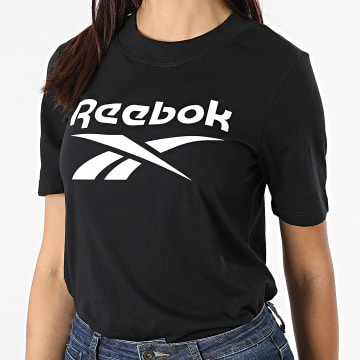 Reebok - Tee Shirt Femme Reebok Identity Logo GL2551 Noir