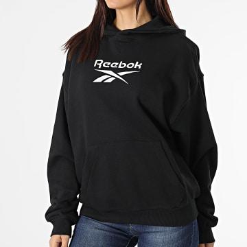 Reebok - Sweat Capuche Femme Classic Big Logo GS1736 Noir