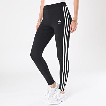 Adidas Originals - Legging Femme A Bandes 3 Stripes H09426 Noir