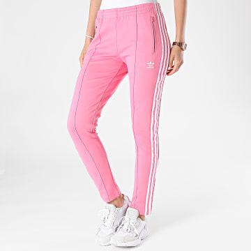Adidas Originals - Pantalon Jogging Femme A Bandes H34581 Rose