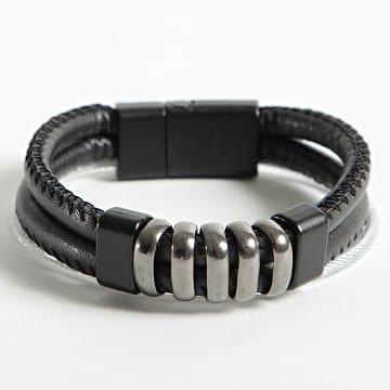 Black Needle - Bracelet BBN-457 Noir