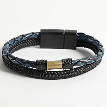 Black Needle - Bracelet BBN-462 Bleu Marine