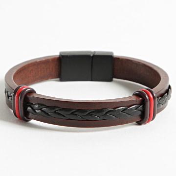 Black Needle - Bracelet BBN-468 Marron