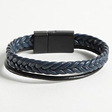 Black Needle - Bracelet BBN-471 Bleu Marine