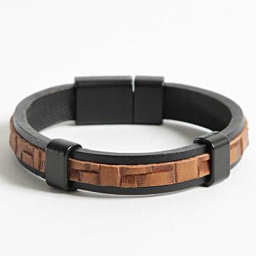 Black Needle - Bracelet BBN-475 Marron