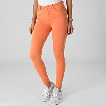 Girls Outfit - Jean Skinny Femme B983 Orange