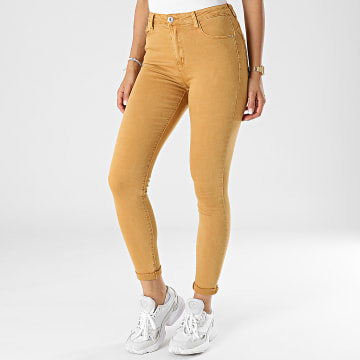 Girls Outfit - Jean Skinny Femme B983 Moutarde