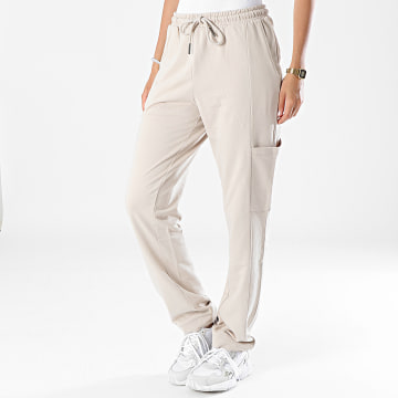 Noisy May - Pantalon Jogging Femme Ally Beige