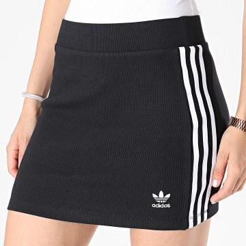 Adidas Originals - Jupe Femme A Bandes 3 Stripes H38761 Noir