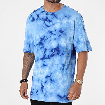Frilivin - Tee Shirt Oversize Tie Dye 93349 Bleu