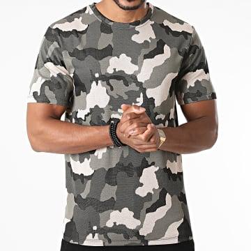 Frilivin - Tee Shirt Camouflage 15251 Vert Kaki