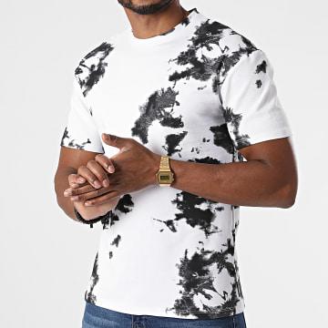 Frilivin - Tee Shirt 5670 Blanc Noir