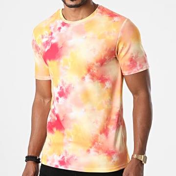 Frilivin - Tee Shirt 15257 Orange Rouge