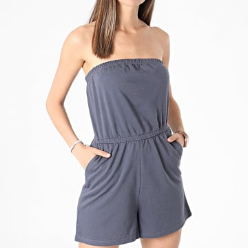 Only - Combishort Femme Lela Life Gris Anthracite