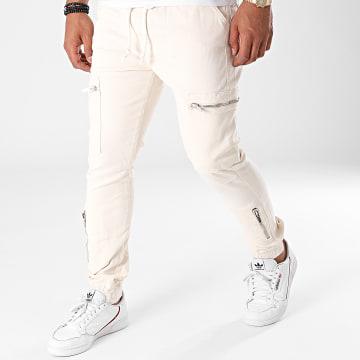 2Y Premium - Jogger Pant Jean B6126 Ecru