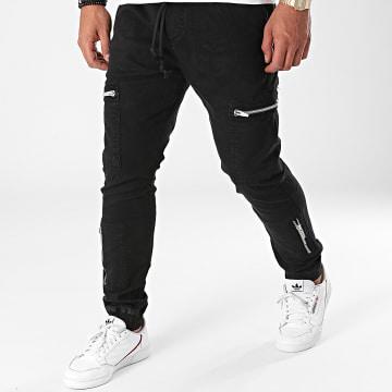 2Y Premium - Jogger Pant Jean B6126 Noir
