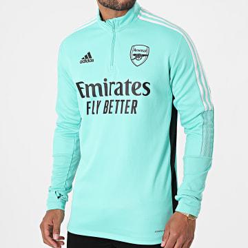 Adidas Performance - Sweat Col Zippé Arsenal GR4188 Vert Clair