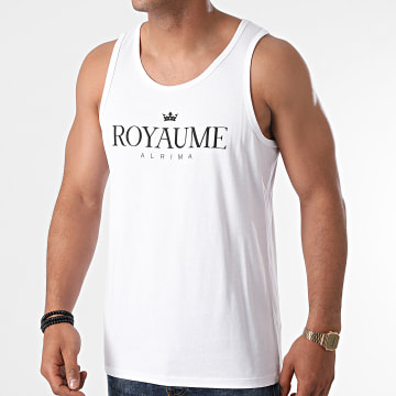 Alrima - Débardeur Royaume Blanc Noir