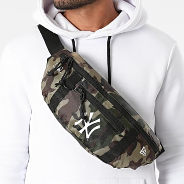 New Era - Sac Banane Waist Bag Light 60137360 New York Yankees Camo Vert Kaki