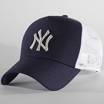 New Era - Casquette Trucker Diamond Era 60137627 New York Yankees Bleu Marine