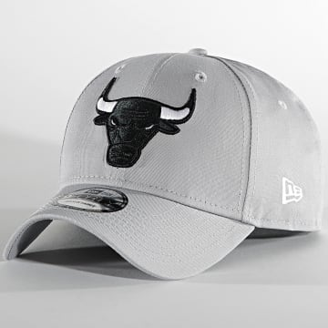 New Era - Casquette 9Forty Grayscale 60137630 Chicago Bulls Gris