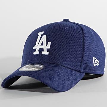 New Era - Casquette Fitted 39Thirty Diamond Era 60137688 Los Angeles Dodgers Bleu Roi