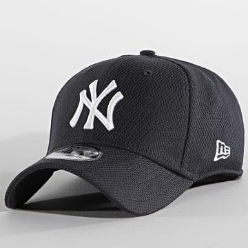 New Era - Casquette Fitted 39Thirty Diamond Era 60137746 New York Yankees Bleu Marine