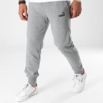 Puma - Pantalon Jogging Essentials Logo 586716 Gris Chiné