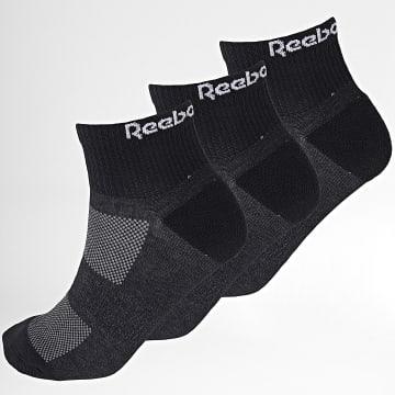 Reebok - Lot De 3 Paires De Chaussettes TE Ank GH0419 Noir