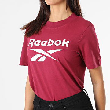 Reebok - Tee Shirt Femme Reebok Identity Logo GR9378 Bordeaux