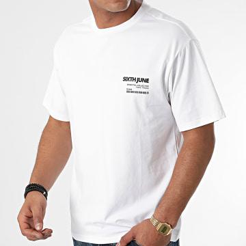 Sixth June - Tee Shirt M22310VTS Blanc