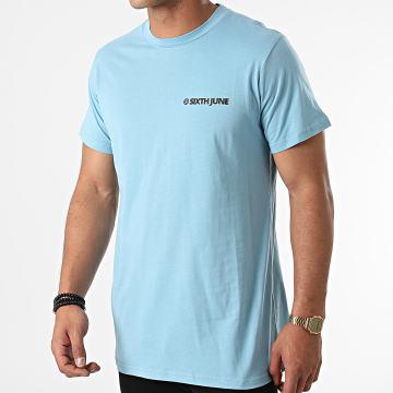 Sixth June - Tee Shirt M22173VTS Bleu Clair