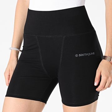 Sixth June - Short Jogging Femme W32947KST Noir