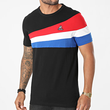 Le Coq Sportif - Tee Shirt Tricolore 2120314 Noir