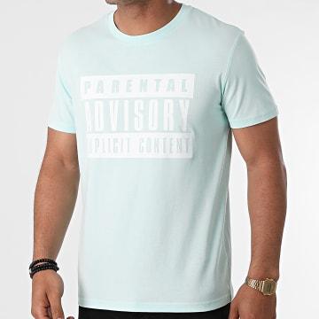 Parental Advisory - Tee Shirt Logo Vert Pastel