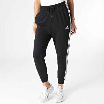 Adidas Performance - Pantalon Jogging Femme 3 Stripes GR9606 Noir