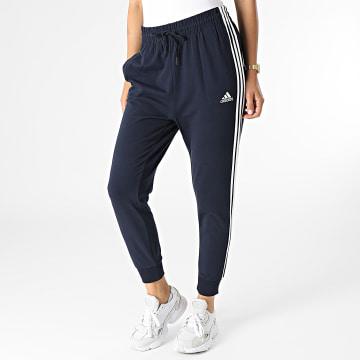 Adidas Performance - Pantalon Jogging Femme A Bandes H10230 Bleu Marine